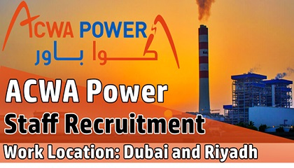 Photo of ACWA Power Employment & Jobs
