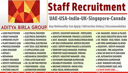 Photo of Aditya Birla Group Requires Staff