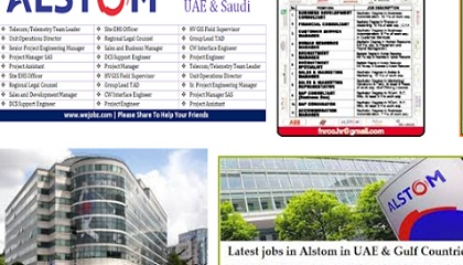 Photo of Alstom Jobs Vacancies in Saudi Arabia