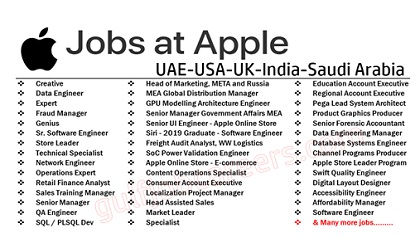 Photo of Apple Employment & Jobs