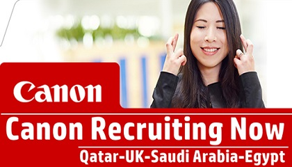 Photo of Canon Job Vacancy | Qatar-UK-Saudi Arabia-Egypt