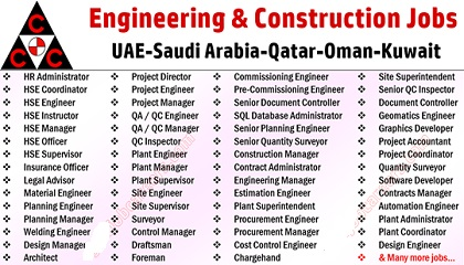Photo of CCC Jobs | Consolidated Contractors Company | Middle East