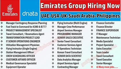 Photo of Emirates Group in Jobs circular