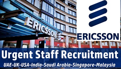 Photo of Ericsson Staff Recruitment