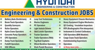 Hyundai Engineering & Construction Job Vacancy