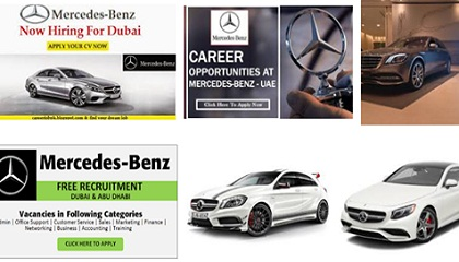 Photo of Jobs in Mercedes Benz in UAE
