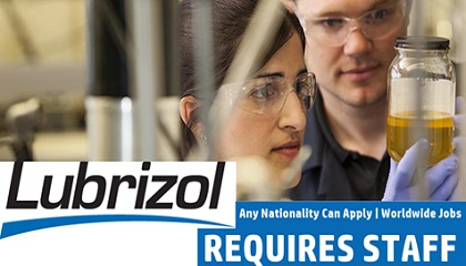 Photo of Lubrizol Requires Staff | Worldwide Jobs
