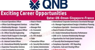 Qatar National Bank (QNB) Careers