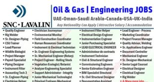 SNC-Lavalin Oil & Gas Jobs