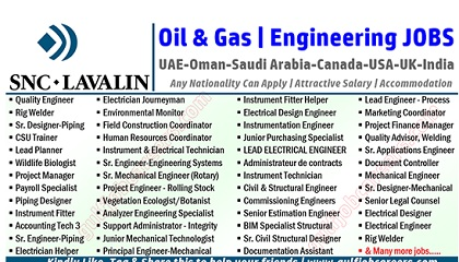 Photo of SNC-Lavalin Oil & Gas Jobs