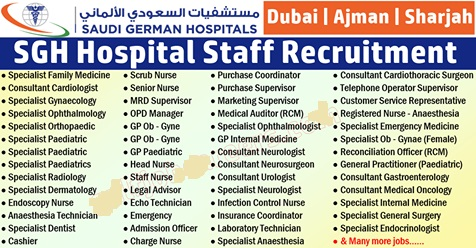 Photo of SGH | Saudi German Hospital Job Vacancy