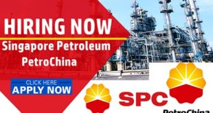 Singapore Petroleum Company (SPC) Staff Recruitment