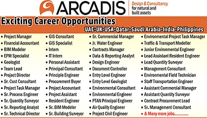 Photo of ARCADIS Requires Staff