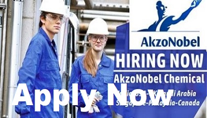 Photo of AkzoNobel Chemical Job Vacancies