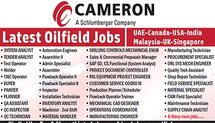 Photo of Cameron Oil & Gas Job Vacancies