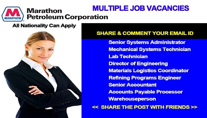 Photo of LATEST JOB VACANCIES AT MPC -MARATHON PETROLEUM CORPORATION