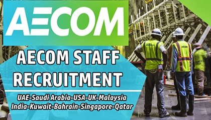 Photo of Latest AECOM online jobs in UAE | QATAR | UK | USA | INDIA