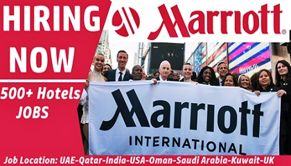 Photo of Marriott International Job Vacancies