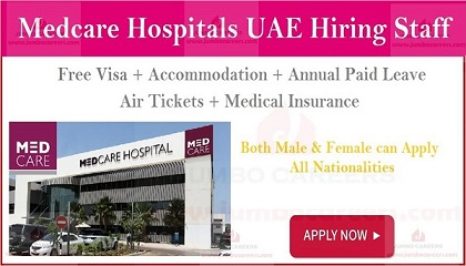 Photo of Medcare Hospitals Dubai Jobs Careers 2019
