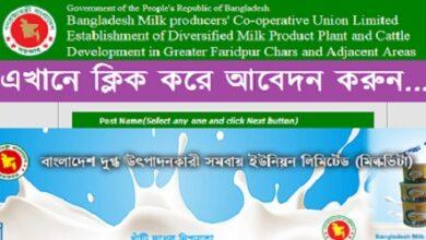 Photo of Milk Vita Job Circular