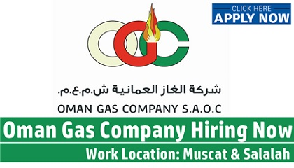 Photo of Multiple Job Vacancies at Oman Gas Company (OGC)