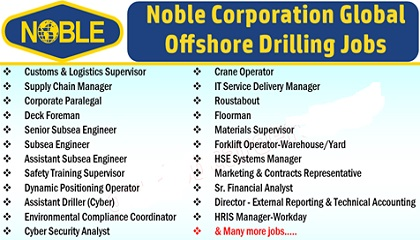 Photo of Noble Corporation Offshore Drilling Careers