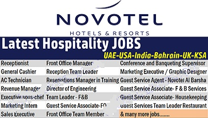 Photo of Novotel Hotels Job Vacancies