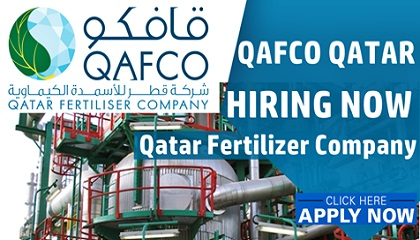 Photo of QAFCO Qatar Hiring Now