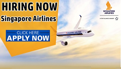 Photo of Singapore Airlines Job Vacancies