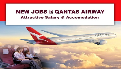 Photo of Staff Recruitment Qantas Airways