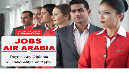 Photo of Recruiting Now in AIR ARABIA