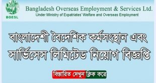 BOESL published a Job Circular