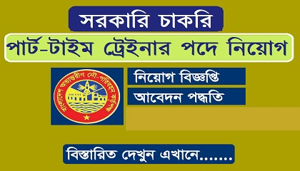 Photo of Part Time Trainer in job circular