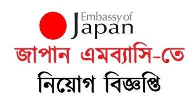 Photo of Embassy of Japan Job Circular