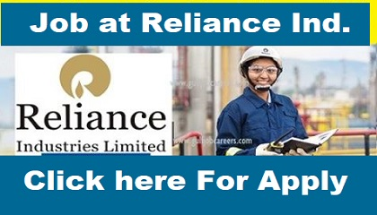 Photo of Job Vacancies at Reliance Industries