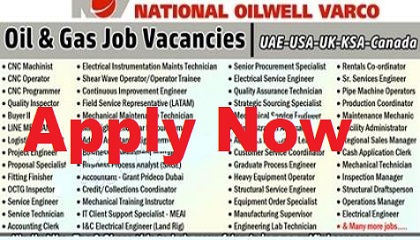 Photo of National Oilwell Varco (NOV) Oil & Gas Jobs & Careers