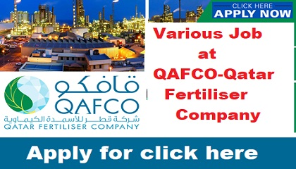 Photo of QAFCO-Qatar Fertiliser Company in job circular