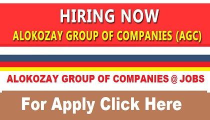 Photo of HIRING NOW !! ALOKOZAY GROUP OF COMPANIES