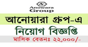 Anowara Group published a Job Circular
