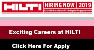 Exciting Careers at HILTI