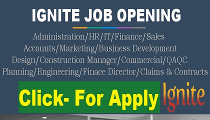 Photo of LATEST JOB VACANCIES AT IGNITE