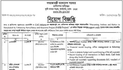 Photo of Ministry of Fisheries and Livestock Job Circular