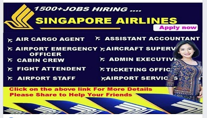 Photo of LATEST JOB VACANCIES AT SINGAPORE AIRLINES