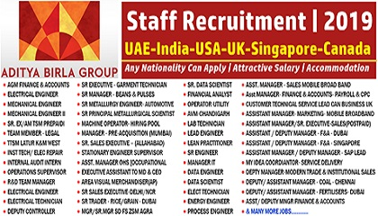 Photo of Aditya Birla Group Staff Recruitment