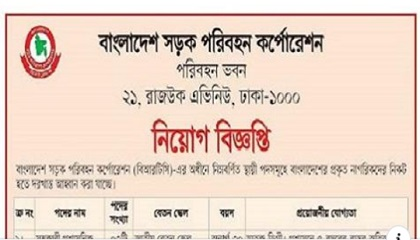 Photo of BRTC Job Circular