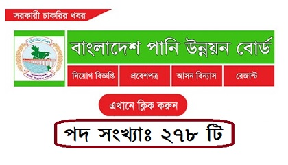 Photo of Bangladesh Water Development Board Job Circular 2019