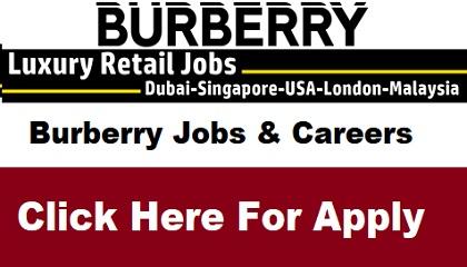 Photo of Burberry Jobs & Careers