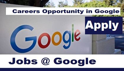 Photo of Careers Opportunity in Google