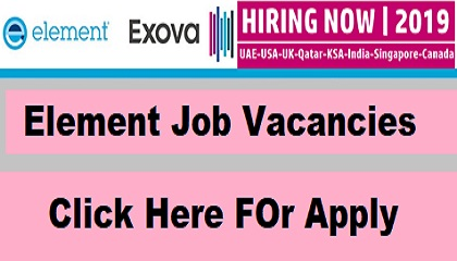 Photo of Element Job Vacancies