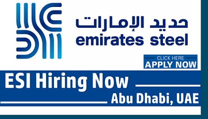 Photo of Emirates Steel Industries (ESI) Jobs & Careers